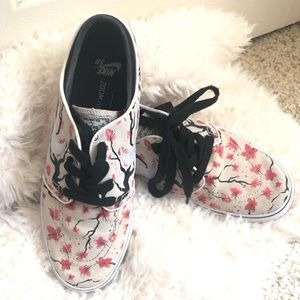 Nike Janoski sneakers with floral print